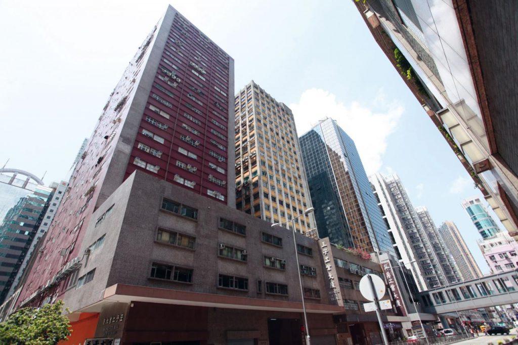 大鴻輝近日以12.9億元買入荃灣沙咀道王子工業大廈全幢。