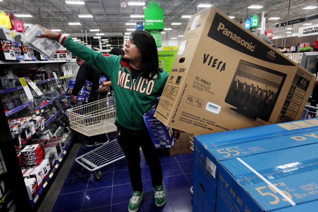 有跡象顯示美國經濟活動在今年首季可能進一步放緩,主要反映在零售銷售。