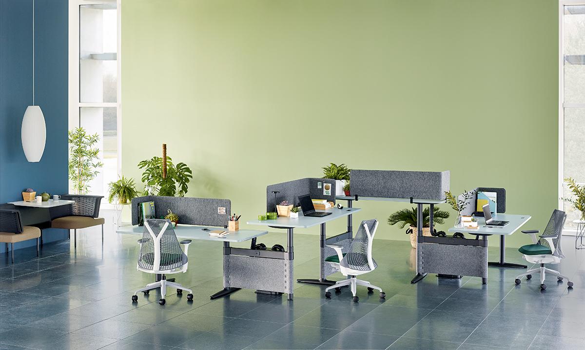 全新 Cosm 座椅既有自動化一面,又有人性化的元素。